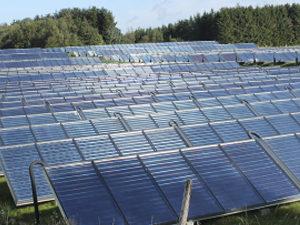 1 million m2 of solar panels in Denmark.